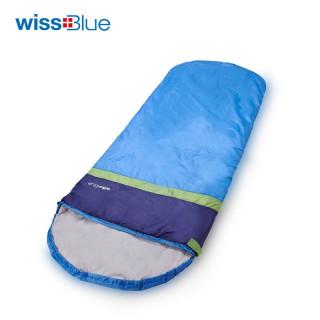 Wissblue维仕蓝睡袋 超轻单人蓝度户外睡袋WA8020(蓝色)