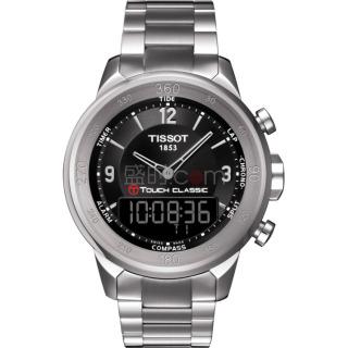 天梭 Tissot 高科技觸屏系列 T083.420.11.057.00 石英 男款