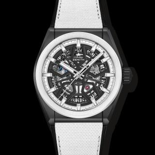 真力时 Zenith DEFY系列黑白特别版腕表 49.9005.670/11.R943 机械 男款