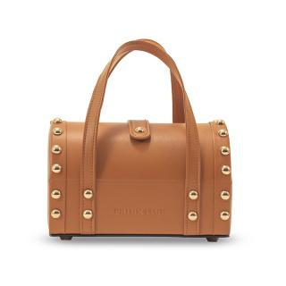 PRIME TIME盛时定制复古手提首饰盒 家用携带两用手提包款首饰盒