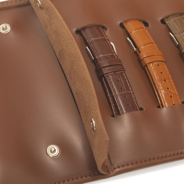 PRIME TIME盛时定制表带收纳包 皮革绑带便携式随身手表表带包