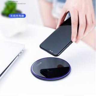 Prime Time盛时定制桌面无线快充充电器 正品苹果华为小米无线充电器升级款(黑色)