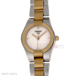 天梭 Tissot 時尚系列 T043.010.22.111.00 石英 女款
