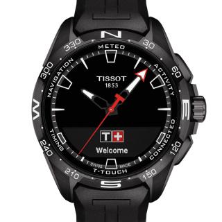 天梭 Tissot 高科技触屏系列 T121.420.47.051.03 石英 男款