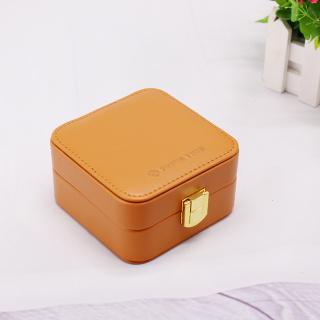 PRIME TIME盛时定制复古首饰收纳盒 便携式首饰盒(焦糖色)