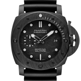 沛纳海 Panerai SUBMERSIBLE专业潜水Marina Militare Carbotech?腕表 PAM00979 机械 男款