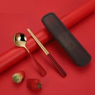 不锈钢筷子勺子套装